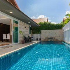 Отель The Ville Pool Villa Jomtien 3* Вилла с различными типами кроватей фото 27