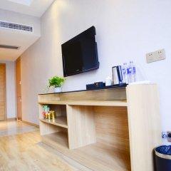 Отель Insail Hotels Railway Station Guangzhou 3* Номер Делюкс с различными типами кроватей фото 9
