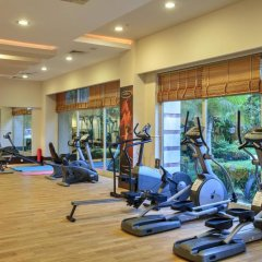 Sunis Kumköy Beach Resort Hotel & Spa – All Inclusive фитнесс-зал фото 2