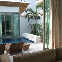 Отель Areca Pool Villa балкон