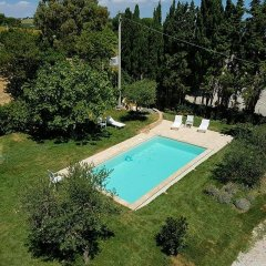 Отель Antico Casale Fossacieca Чивитанова-Марке бассейн фото 2