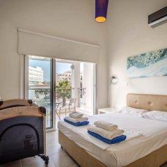 Отель Villa Nora Кипр, Протарас - отзывы, цены и фото номеров - забронировать отель Villa Nora онлайн комната для гостей фото 3