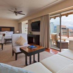 Отель The Westin Resort & Spa Puerto Vallarta 4* Полулюкс с различными типами кроватей фото 2