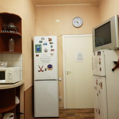 Хостел Антре возле Исакиевского Собора Кровать в общем номере с двухъярусной кроватью