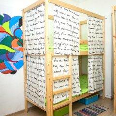 Гостиница Hostels Rus Kitay Gorod Кровать в общем номере двухъярусные кровати фото 3