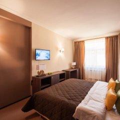Гостиница Горная Резиденция АпартОтель Люкс с двуспальной кроватью фото 5