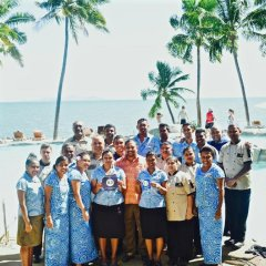 DoubleTree Resort by Hilton Hotel Fiji - Sonaisali Island детские мероприятия фото 2