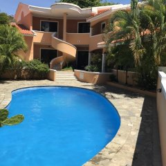 Отель Residence Oasis Доминикана, Бока Чика - отзывы, цены и фото номеров - забронировать отель Residence Oasis онлайн бассейн фото 3