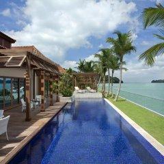 Отель Resorts World Sentosa - Beach Villas 5* Вилла с различными типами кроватей