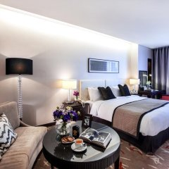 Отель Oakwood Premier Coex Center Улучшенная студия с различными типами кроватей фото 3