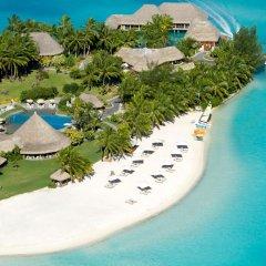 Отель The St Regis Bora Bora Resort пляж фото 7