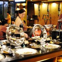 Отель Riyuegu Hotsprings Resort питание