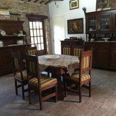 Отель Antico Casale Fossacieca Чивитанова-Марке питание фото 2