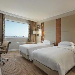 Отель Hilton Barcelona 4* Стандартный номер с различными типами кроватей фото 2