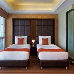 Radisson Blu Hotel, Dubai Media City 4* Стандартный семейный номер с 2 отдельными кроватями фото 2
