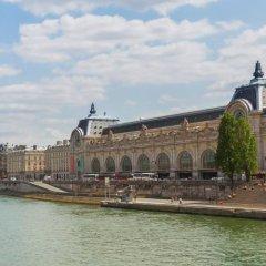 Отель Bourgogne Et Montana Париж приотельная территория