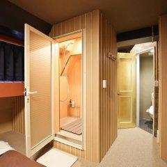 SAMURAIS HOSTEL Ikebukuro Стандартный семейный номер с двуспальной кроватью фото 7