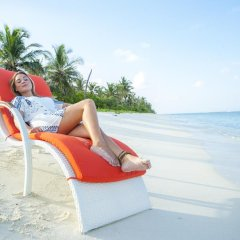 Отель Fern Boquete Inn Мальдивы, Северный атолл Мале - 1 отзыв об отеле, цены и фото номеров - забронировать отель Fern Boquete Inn онлайн пляж фото 2