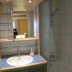 Отель City Center Apartments Бельгия, Брюссель - отзывы, цены и фото номеров - забронировать отель City Center Apartments онлайн ванная