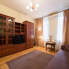 Апартаменты LikeHome Апартаменты Тверская Студия Делюкс разные типы кроватей фото 14