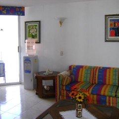 Отель Condominios La Palapa 3* Апартаменты с различными типами кроватей фото 11