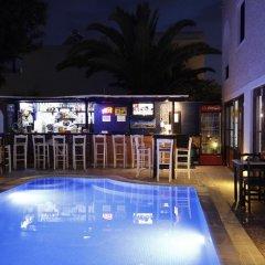 Отель Anny Studios Perissa Beach бассейн