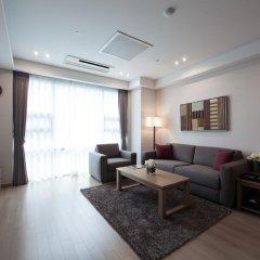 Отель Fraser Place Central Seoul 4* Улучшенные апартаменты с различными типами кроватей фото 2