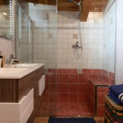 Отель Mansarda Via Ollietti Ла-Саль ванная фото 2