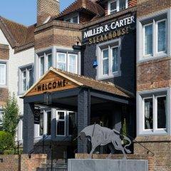 Отель Innkeeper's Lodge Brighton, Patcham Великобритания, Брайтон - отзывы, цены и фото номеров - забронировать отель Innkeeper's Lodge Brighton, Patcham онлайн вид на фасад фото 2