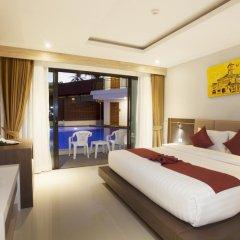Отель Paripas Patong Resort 4* Номер Делюкс с двуспальной кроватью фото 8