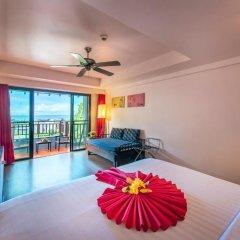 Отель Krabi Cha-da Resort 4* Стандартный номер с различными типами кроватей фото 8