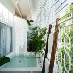 Отель The Myst Dong Khoi 5* Стандартный номер с различными типами кроватей фото 14