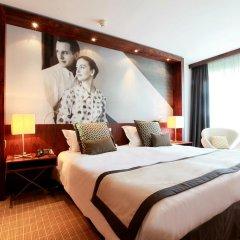 Отель JW Marriott Cannes 5* Стандартный номер с различными типами кроватей фото 2