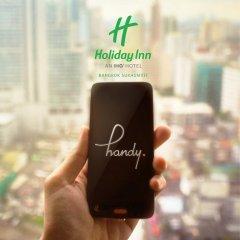 Отель Holiday Inn Bangkok Sukhumvit 4* Номер Делюкс фото 11
