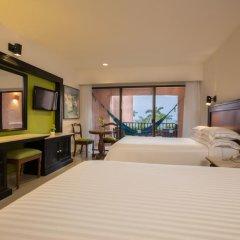 Отель Barcelo Huatulco Beach - Все включено 4* Номер Делюкс с двуспальной кроватью фото 2