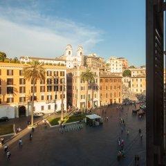 Отель Piazza di Spagna Suites Улучшенный люкс с различными типами кроватей фото 5