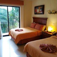 Отель Gran Real Yucatan 3* Стандартный номер с разными типами кроватей фото 3