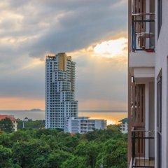 Отель City Garden Pratamnak Condominium By Mr.butler Паттайя балкон