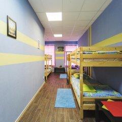 Мини-Отель Компас Кровать в общем номере с двухъярусной кроватью фото 22