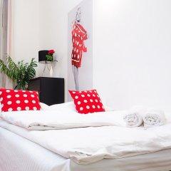 Апартаменты Black & White Apartment Будапешт комната для гостей фото 2