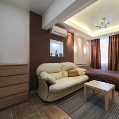 Апартаменты City Apartments Belorusskaya комната для гостей фото 3