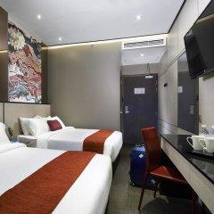 Hotel Boss 3* Стандартный семейный номер с двуспальной кроватью фото 7