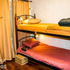 Хостел Hothos Кровать в женском общем номере с двухъярусной кроватью фото 10