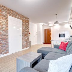 Апартаменты Dom & House - Apartments Waterlane Апартаменты с двуспальной кроватью фото 5