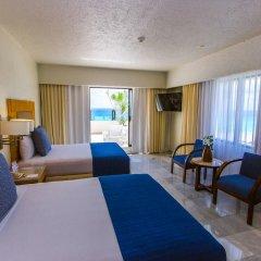 Отель Park Royal Cancun - Все включено 3* Номер Делюкс с различными типами кроватей фото 4