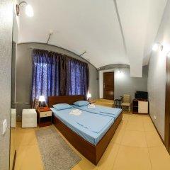 Мини-Отель Юсуповский Сад Улучшенный номер двуспальная кровать фото 3