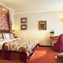 Отель Hôtel Au Manoir St-Germain des Prés 4* Улучшенный номер с различными типами кроватей фото 5