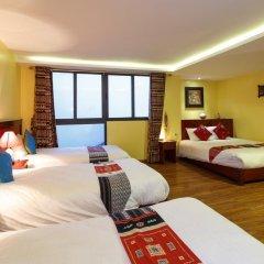 Fansipan View Hotel 3* Люкс с различными типами кроватей фото 20