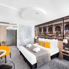 Отель Mercure Budapest City Center 4* Улучшенный номер с различными типами кроватей фото 3