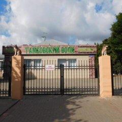Hostel Tambovsky Volk парковка